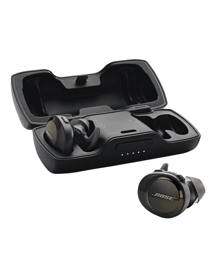 SoundSport Free Wireless Earphones - Triple Black image 5