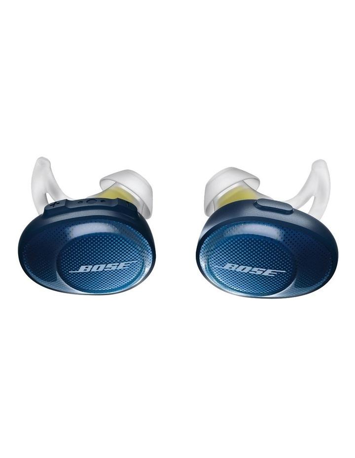 SoundSport Free Wireless Earphones - Blue / Citron image 1