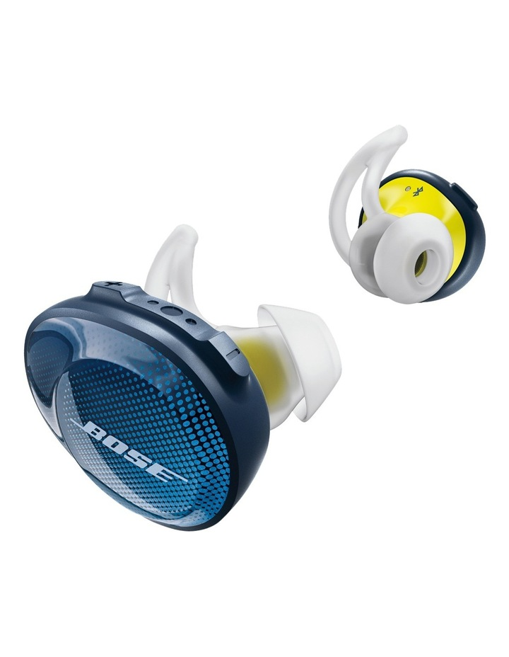 SoundSport Free Wireless Earphones - Blue / Citron image 2