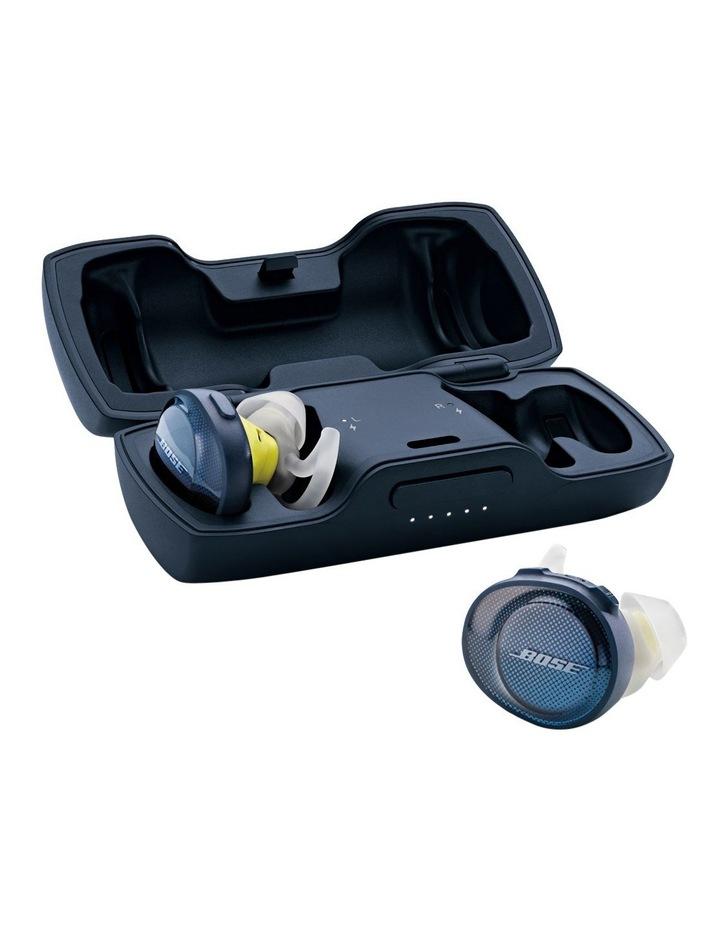 SoundSport Free Wireless Earphones - Blue / Citron image 5
