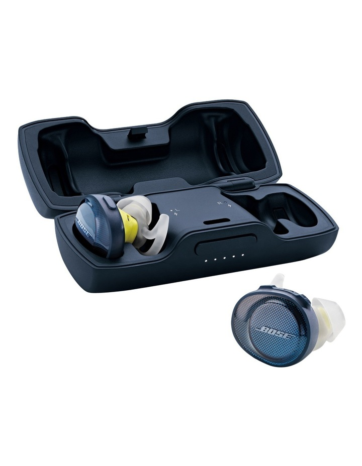 SoundSport Free Wireless Earphones - Blue / Citron image 3