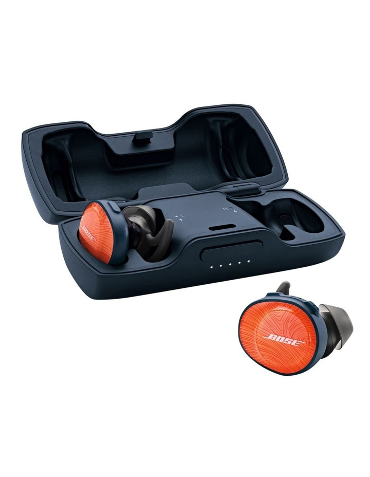 SoundSport Free Wireless Earphones - Orange / Blue image 5