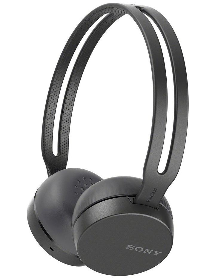 Sony Bt Entry Wireless Headphones Black WHCH400B image 1
