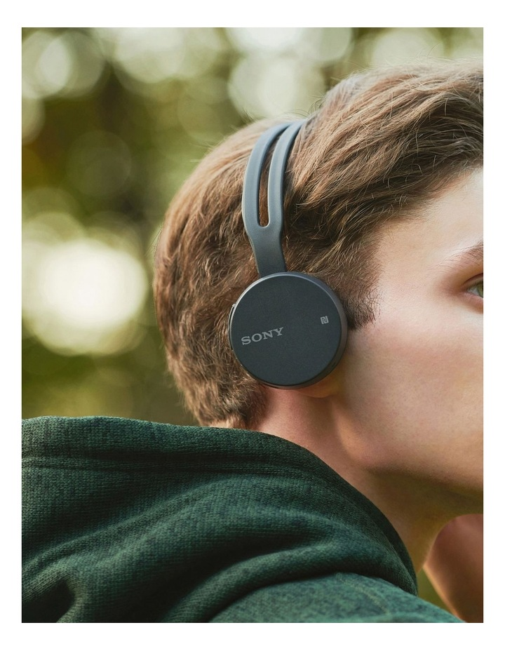 Sony Bt Entry Wireless Headphones Black WHCH400B image 4