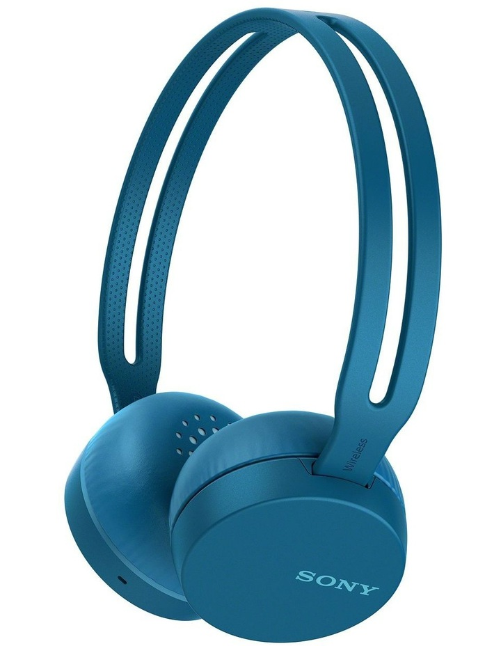 Wireless On Ear Headphones Blue image 1