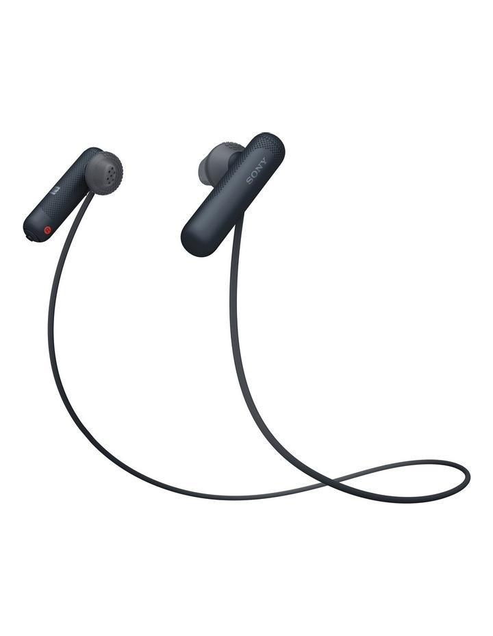 Wireless Sports In-Ear Headphones Black WISP500B image 2