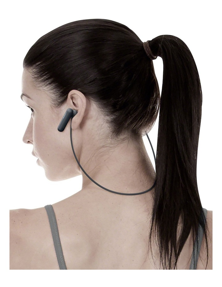 Wireless Sports In-Ear Headphones Black WISP500B image 9
