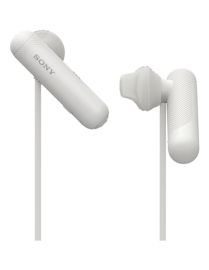 Wireless Sports In-Ear Headphones White WISP500W image 3