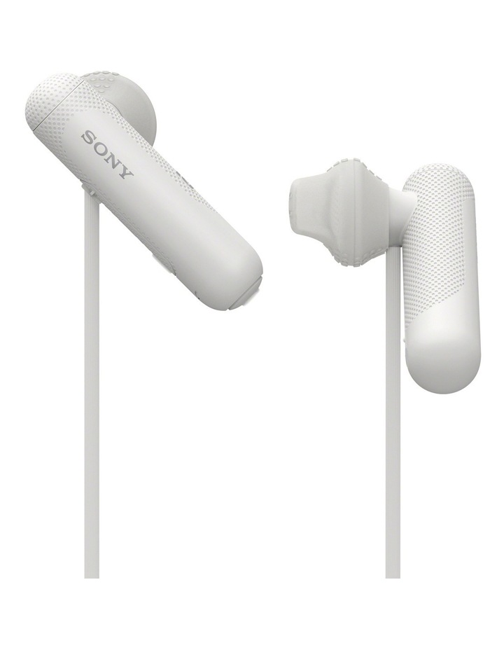 Wireless Sports In-Ear Headphones White WISP500W image 4