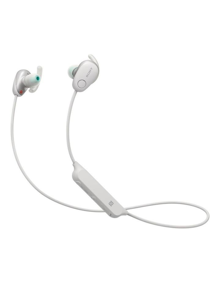Wireless Sports In-Ear Headphones White WISP600NW image 1