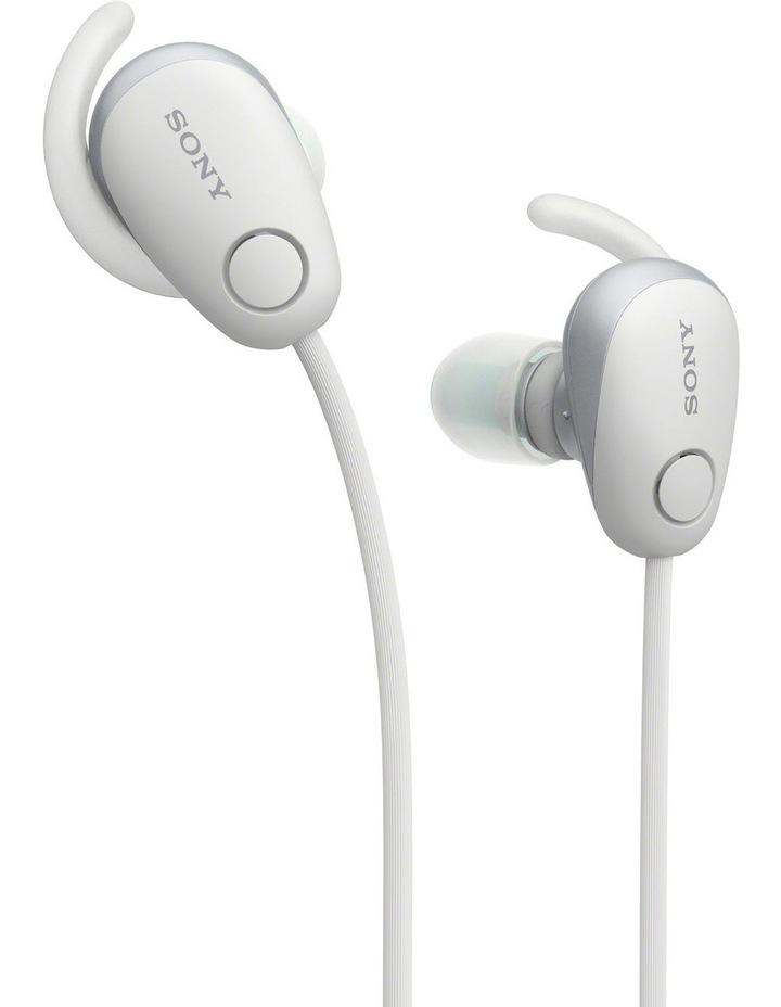 Wireless Sports In-Ear Headphones White WISP600NW image 3