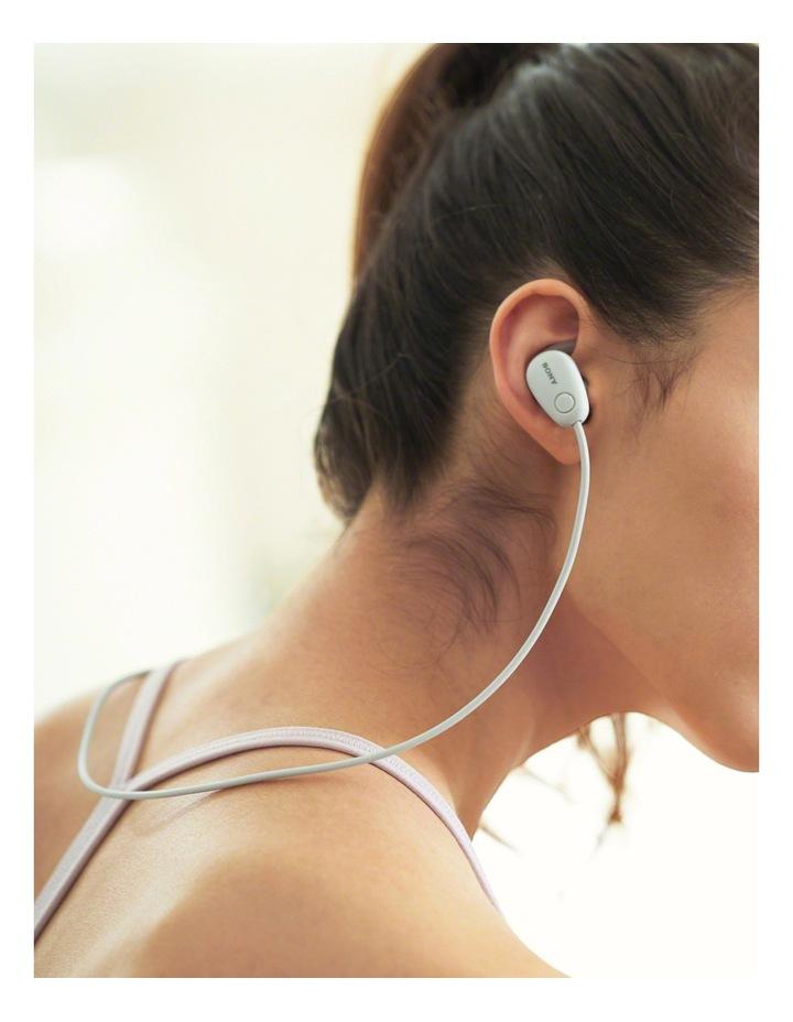 Wireless Sports In-Ear Headphones White WISP600NW image 10