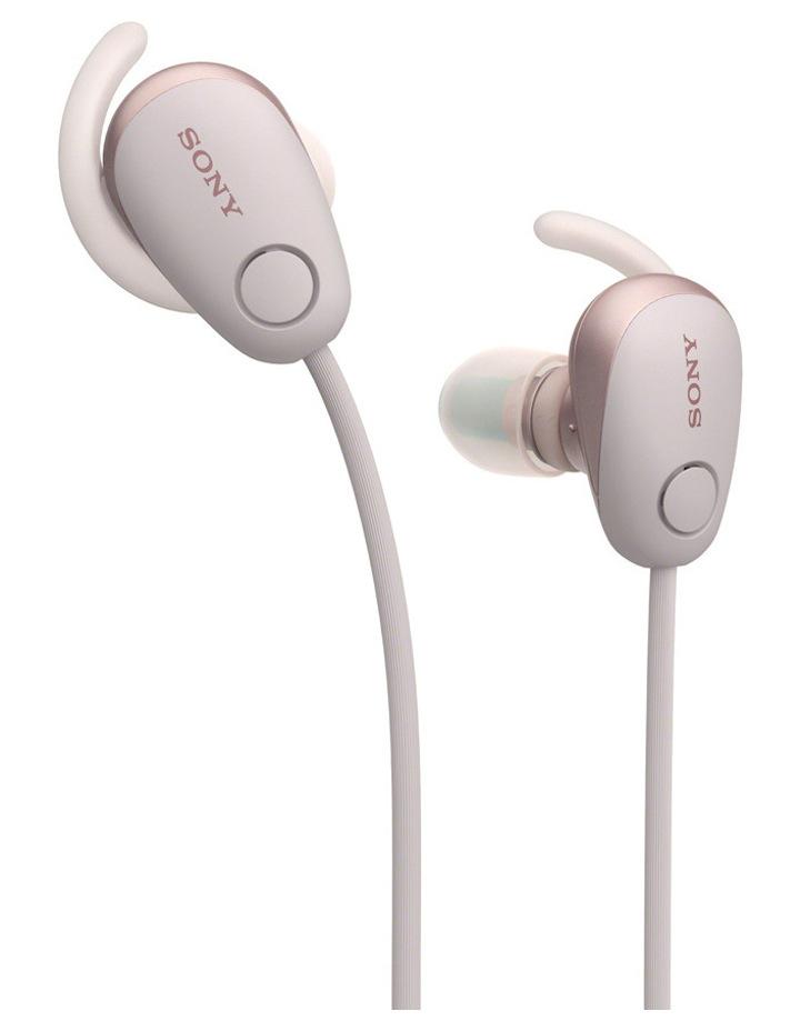 Wireless Sports in-ear Head Phones Pink WISP600NP image 2