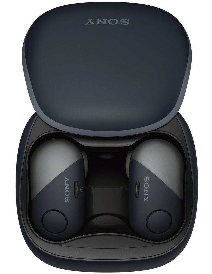Wireless Sports in-ear Head Phones Black WFSP700NB image 5