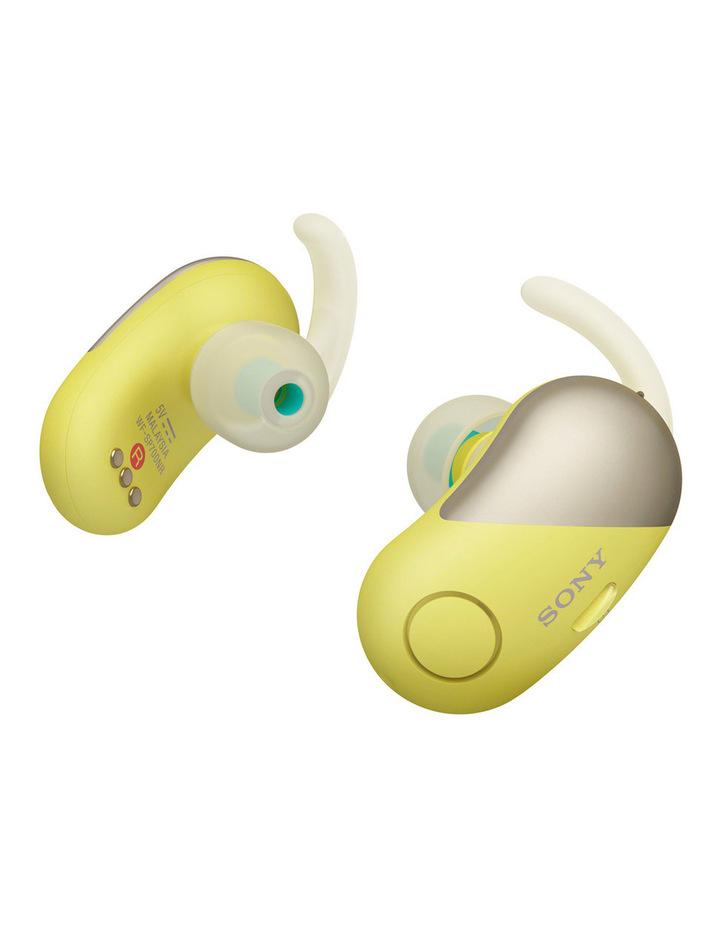 Wireless Sports in-ear Head Phones Yellow WFSP700NY image 2