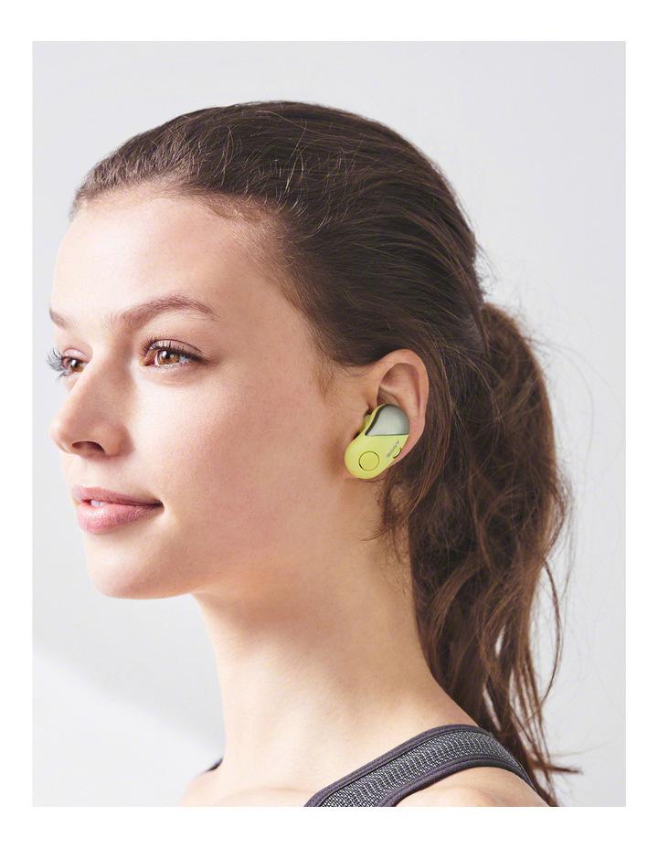 Wireless Sports in-ear Head Phones Yellow WFSP700NY image 5