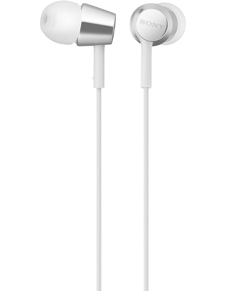 MDREX155AP In-Ear Headphones - White image 1
