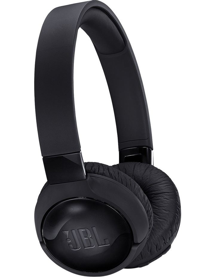 Bluetooth Noise Cancelling Headphones Black T600BTNC image 1