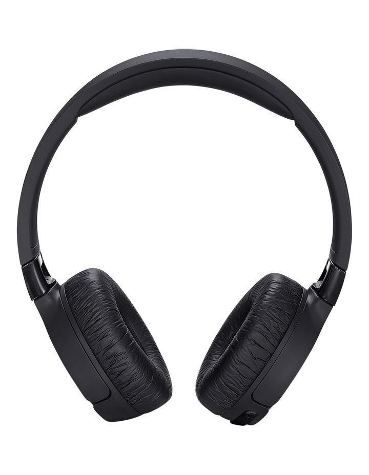 Black Bluetooth Noise Cancelling Headphones T600BTNC image 2