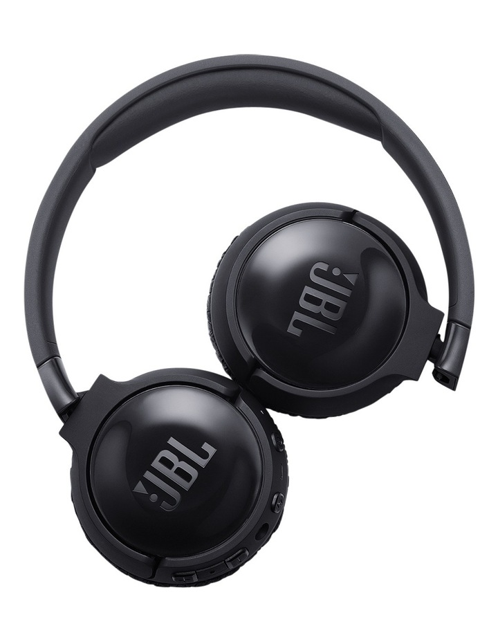 Bluetooth Noise Cancelling Headphones Black T600BTNC image 5