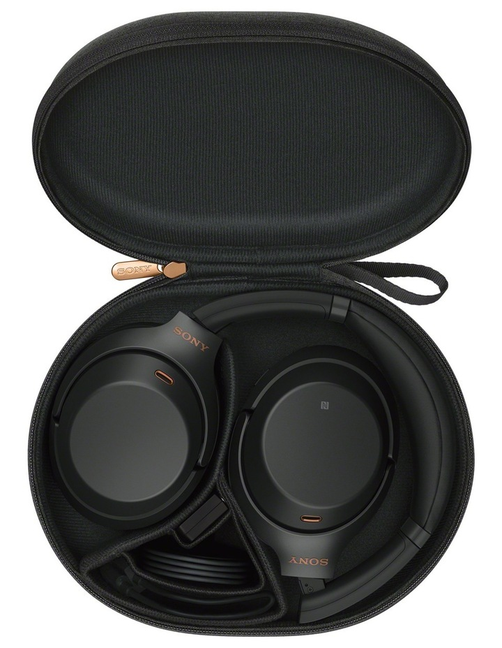 WH1000XM3B NC over-ear w/less h/phns Black image 4