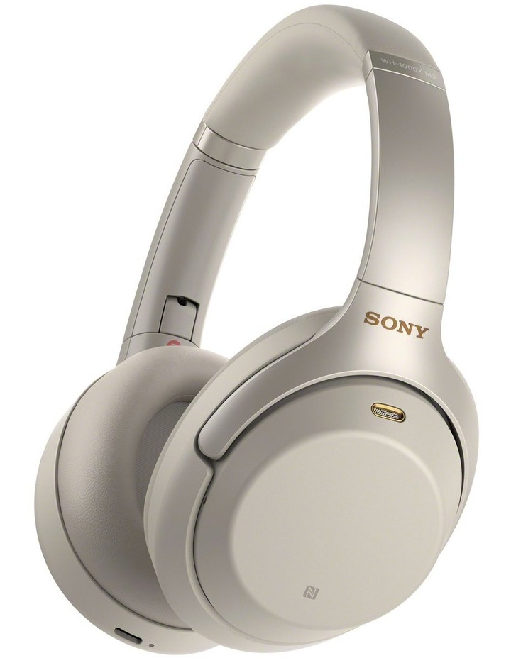 Over-Ear Wireless Headphones  Platinum Silver WH1000XM3S NC image 1