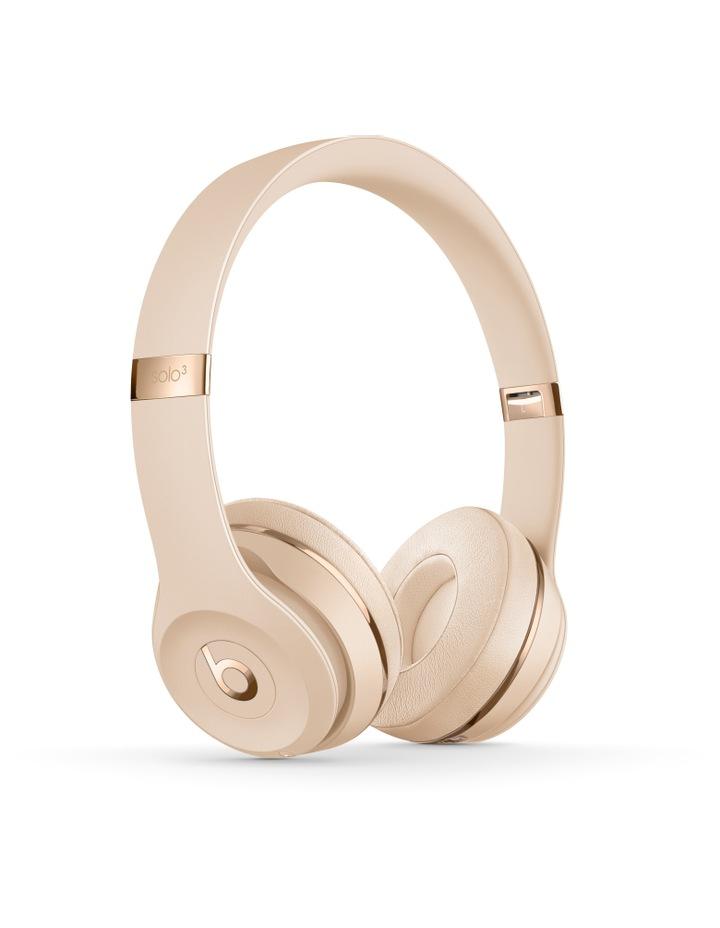 Solo3 Wireless On-Ear Headphones - Satin Gold image 1
