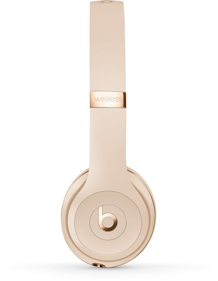Solo3 Wireless On-Ear Headphones - Satin Gold image 2