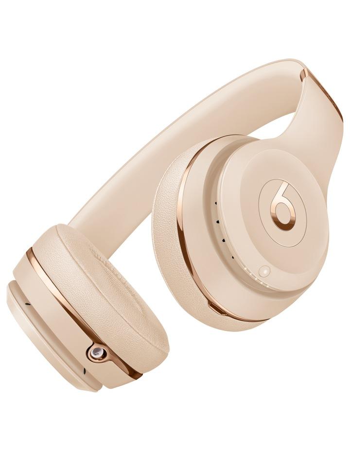 Solo3 Wireless On-Ear Headphones - Satin Gold image 3