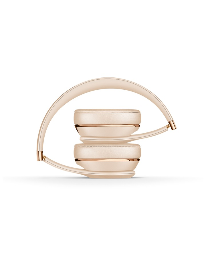 Solo3 Wireless On-Ear Headphones - Satin Gold image 4