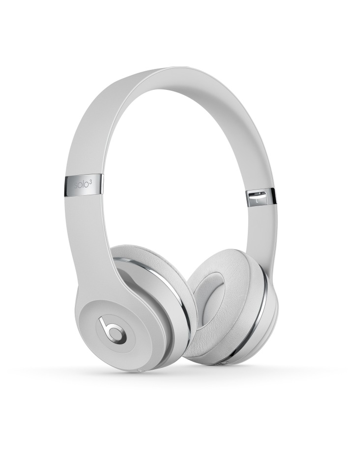 Solo3 Wireless On-Ear Headphones - Satin Silver image 1