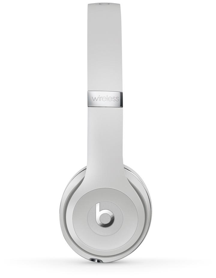 Solo3 Wireless On-Ear Headphones - Satin Silver image 2