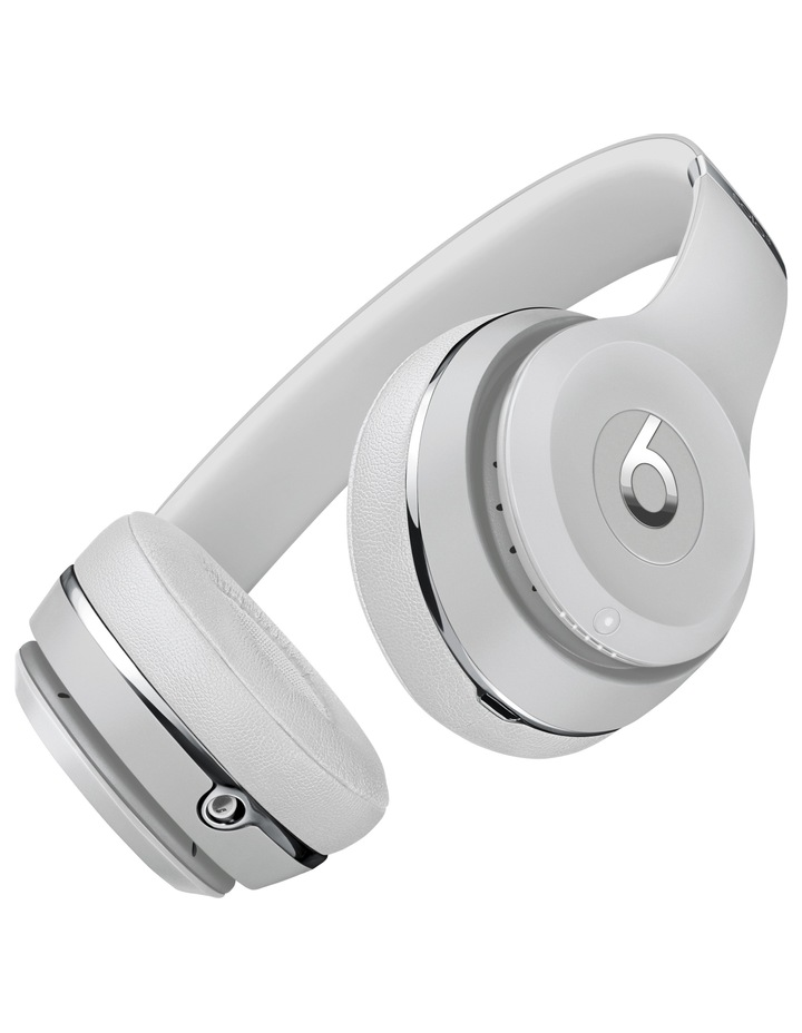 Solo3 Wireless On-Ear Headphones - Satin Silver image 3