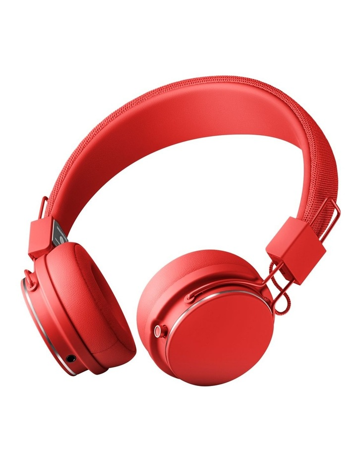 Urbanears Plattan II Bluetooth On-Ear Headphones - Tomato image 1