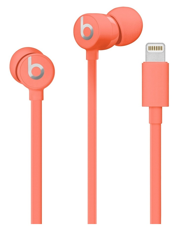 urBeats3 Earphones with Lightning Connector Coral image 3
