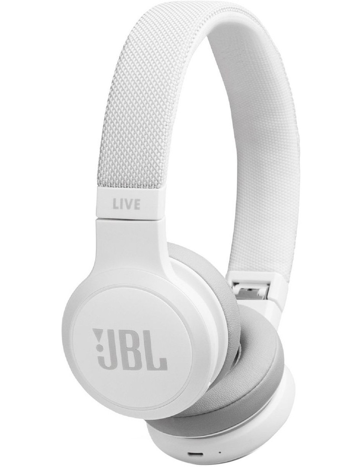 cc612ecaa9e JBL | Live 400BT Wireless On-Ear Headphones White | MYER