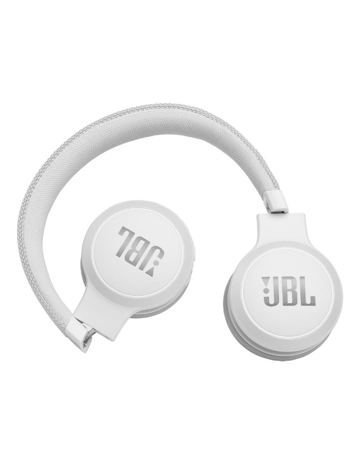 Live 400BT Wireless On-Ear Headphones White image 3