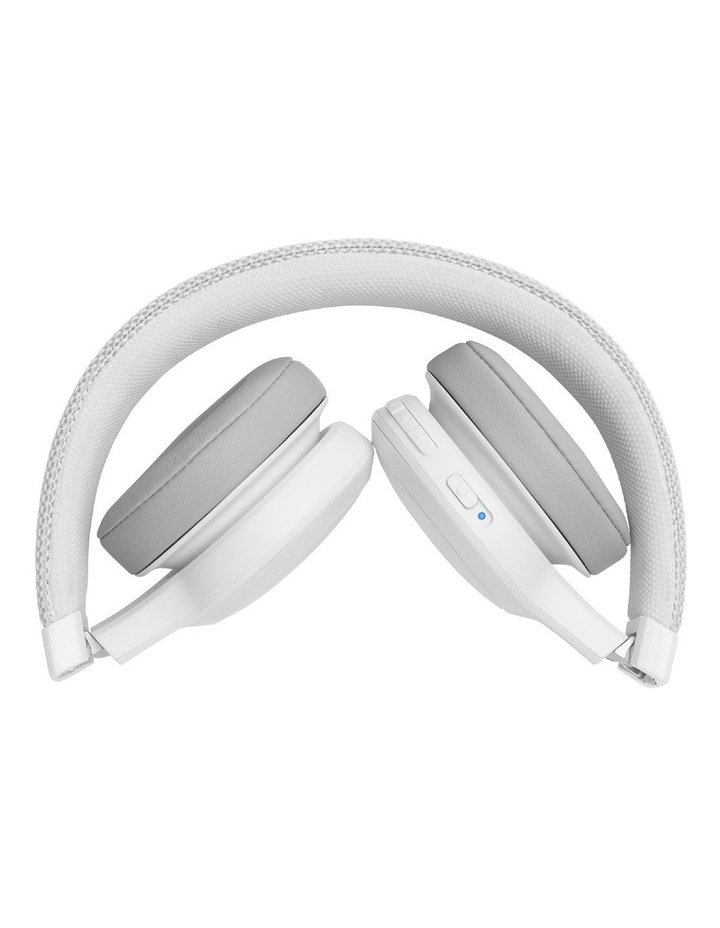 Live 400BT Wireless On-Ear Headphones White image 4