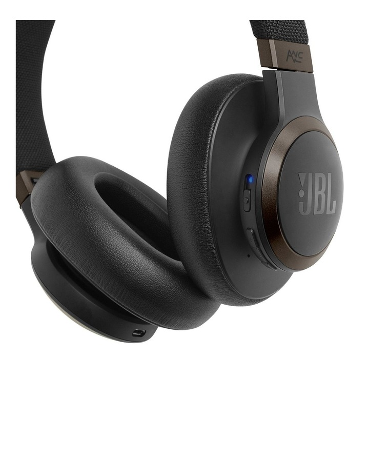 Live 650BTNC Noise Cancelling Wireless Over-Ear Headphones Black image 3