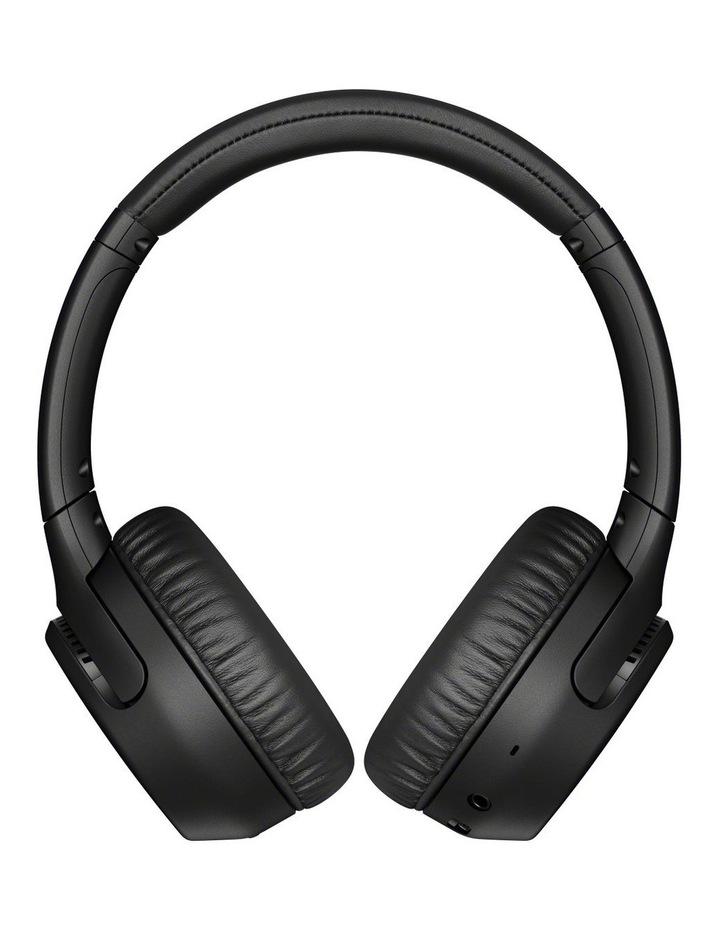 Black Wireless On-Ear Extra Bass Headphones WHXB700B image 1