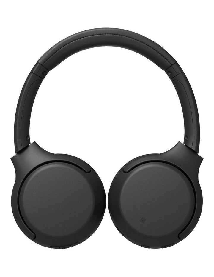 Black Wireless On-Ear Extra Bass Headphones WHXB700B image 3