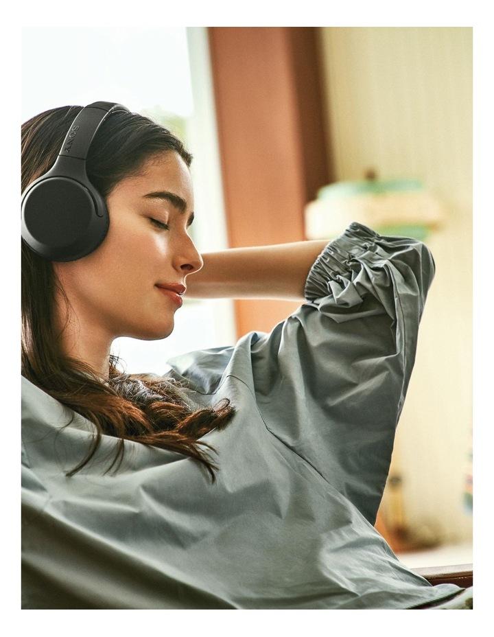 Black Wireless On-Ear Extra Bass Headphones WHXB700B image 5