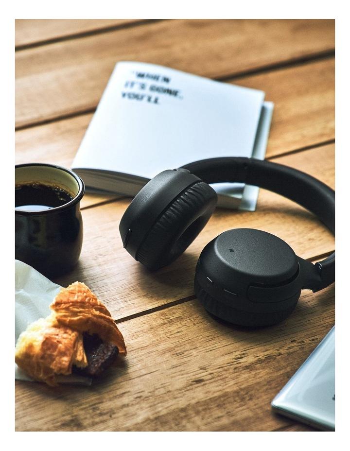 Black Wireless On-Ear Extra Bass Headphones WHXB700B image 7