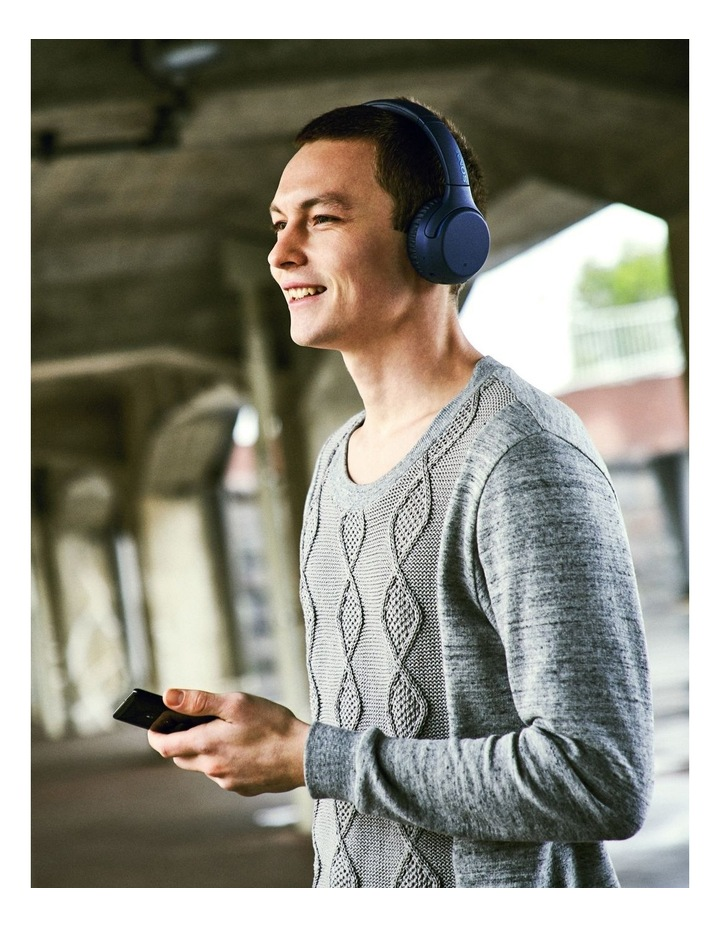 Sony WHXB700L Wireless On-Ear Extra Bass Headphones Blue image 6