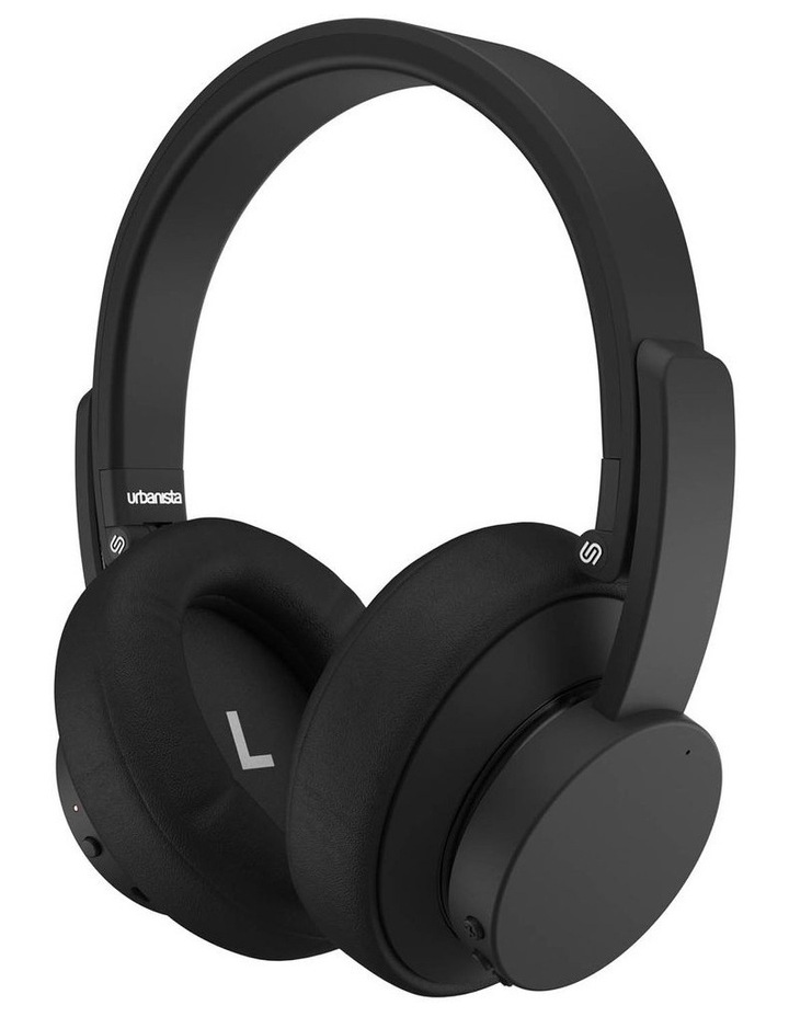 New York Noise Cancelling Wireless Over-Ear Headphones - Black image 2