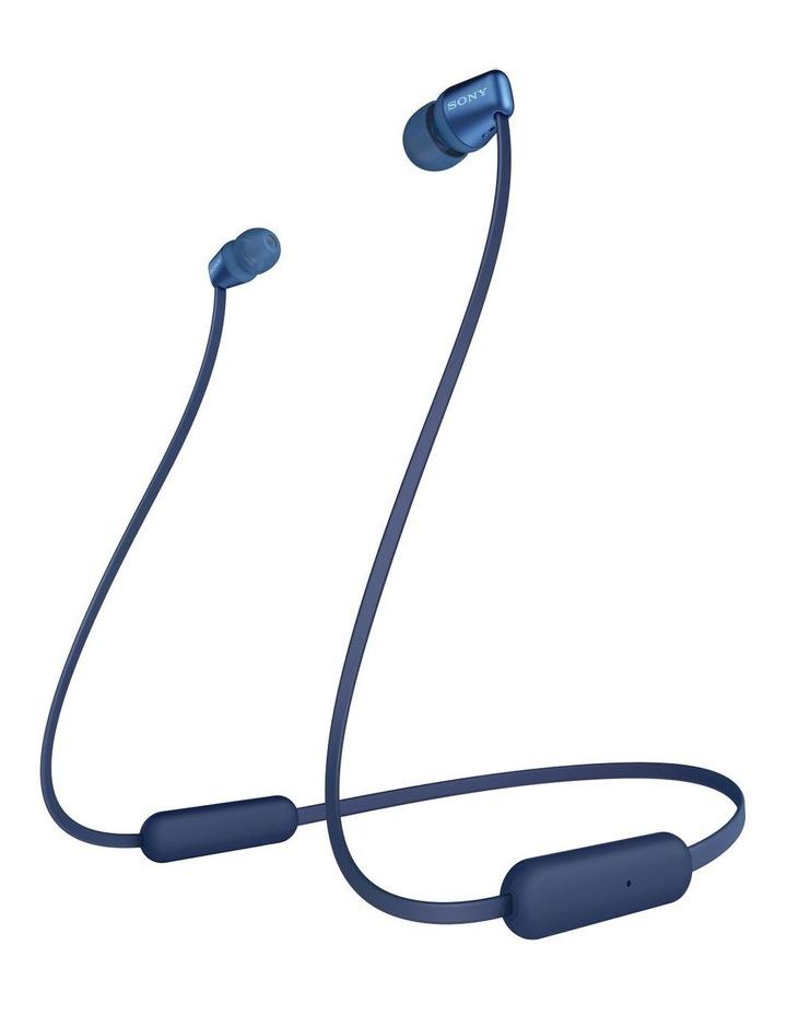Blue Wireless In-Ear Headphones WIC310L image 4