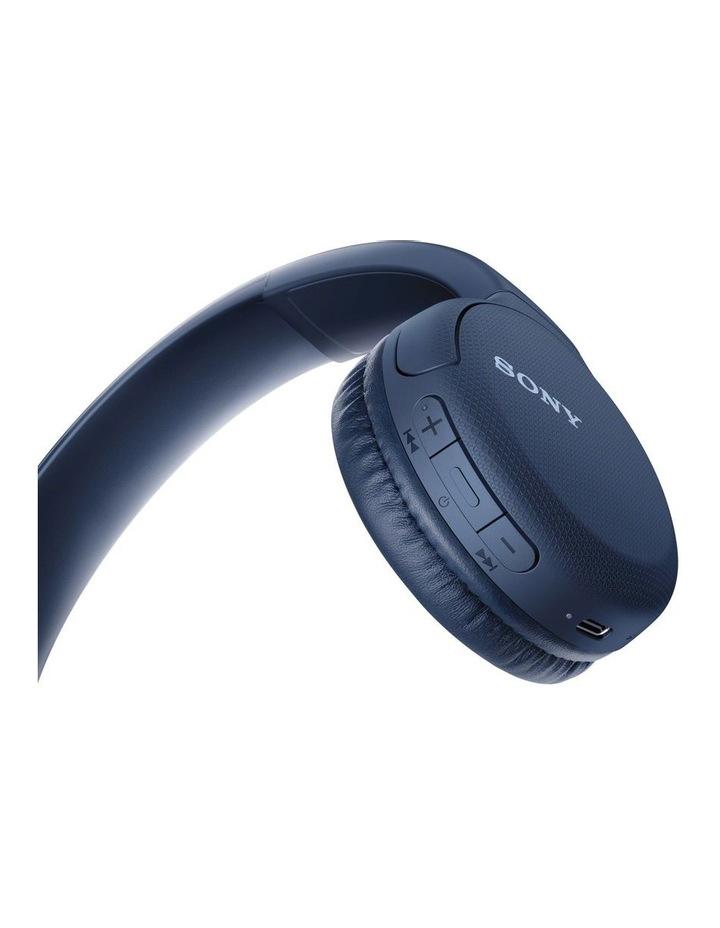 WHCH510L Wireless On-Ear Headphones Blue image 3