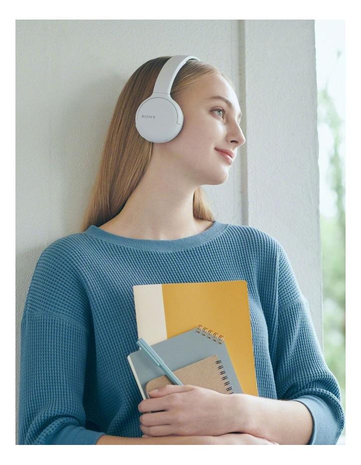 WHCH510W Wireless On-Ear Headphones White image 4