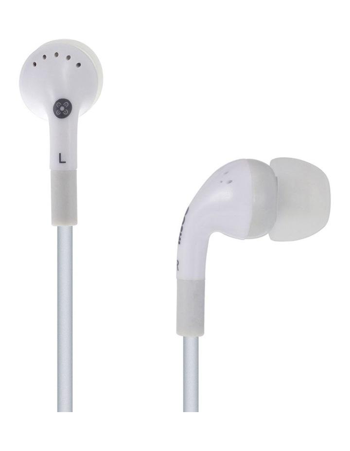 Noise Isolation In-Ear Headphones White image 1