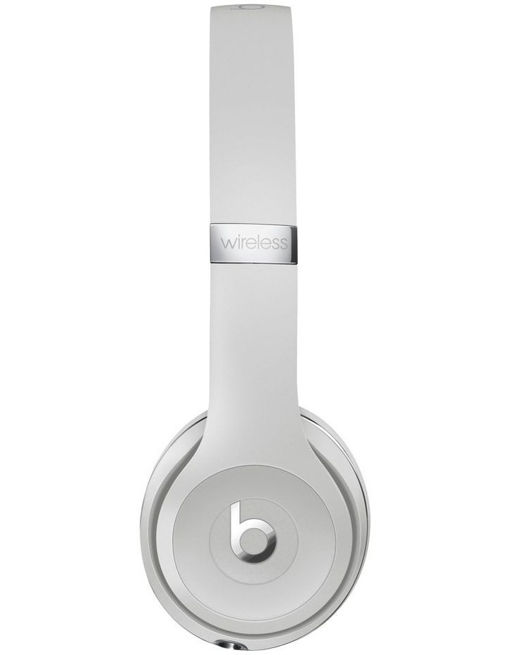 Beats Solo3 Wireless On-Ear Headphones Satin Silver MX452PA/A image 2